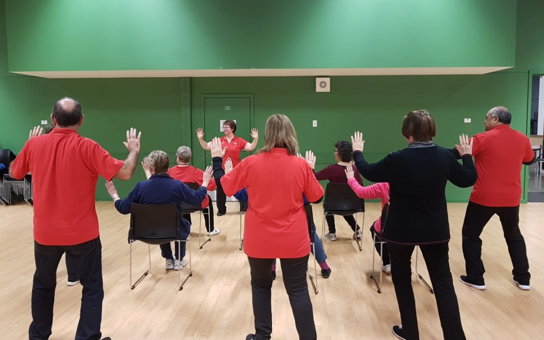 What is the point of seated tai chi?